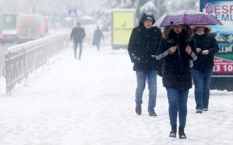 Türkiye'den muhteşem kar manzaraları 76