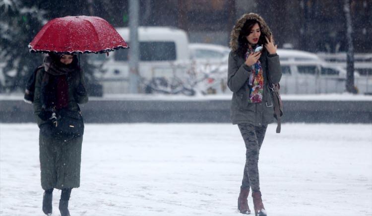 Türkiye'den muhteşem kar manzaraları 77
