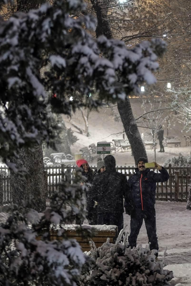 Türkiye'den muhteşem kar manzaraları 8