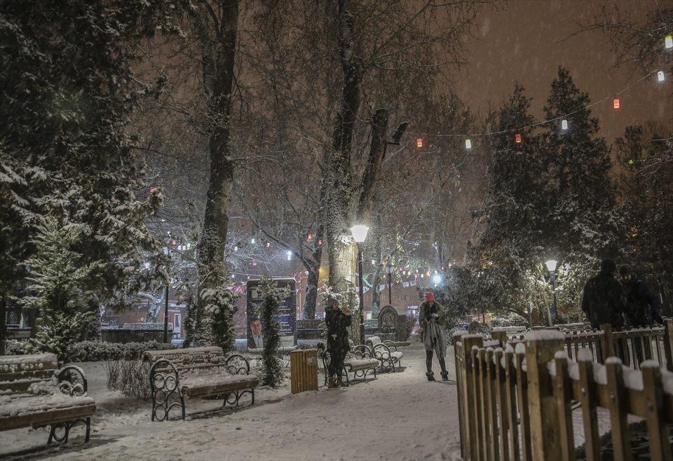 Türkiye'den muhteşem kar manzaraları 9