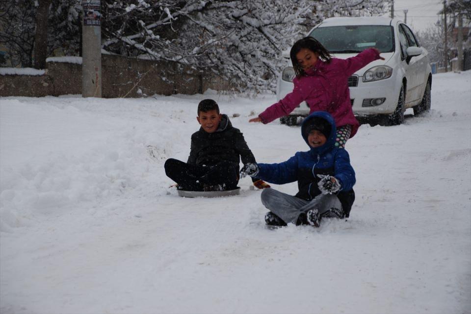 Türkiye'den kar manzaraları 100