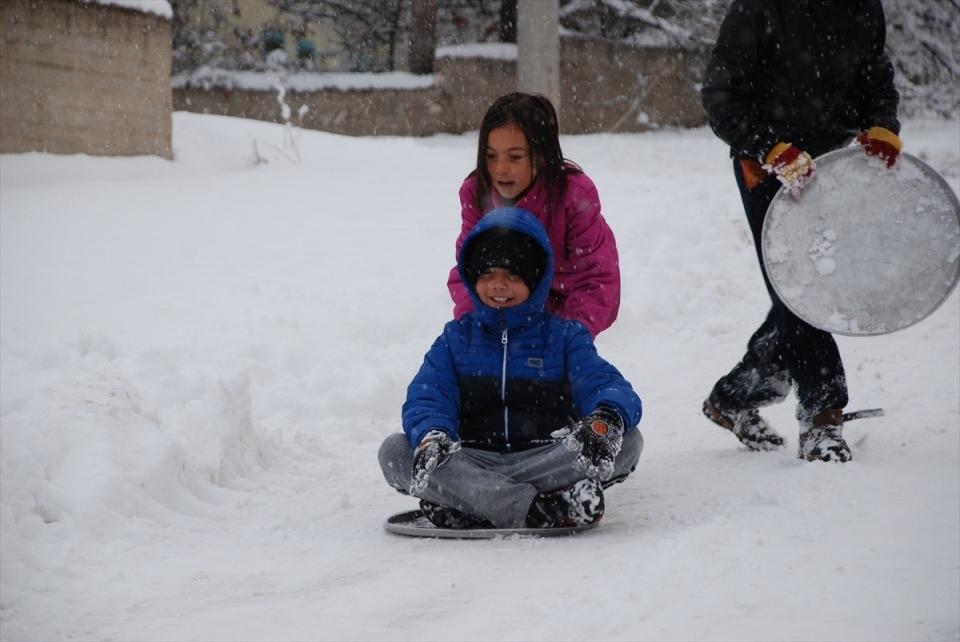 Türkiye'den kar manzaraları 101
