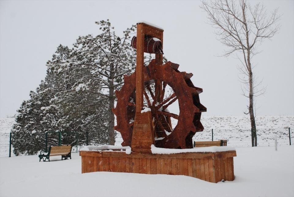 Türkiye'den kar manzaraları 102
