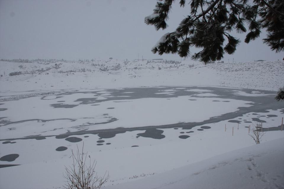 Türkiye'den kar manzaraları 104
