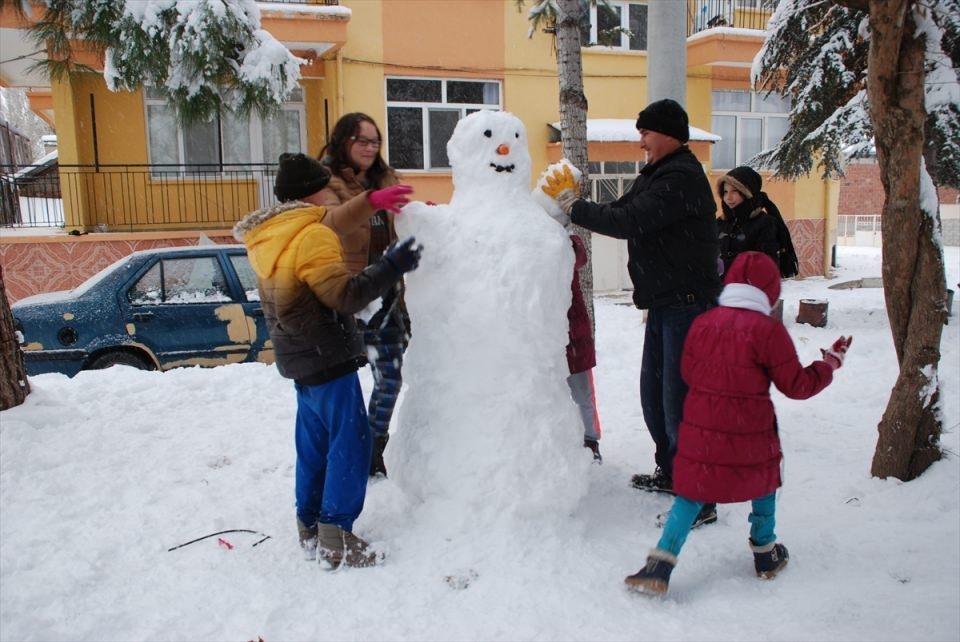 Türkiye'den kar manzaraları 105