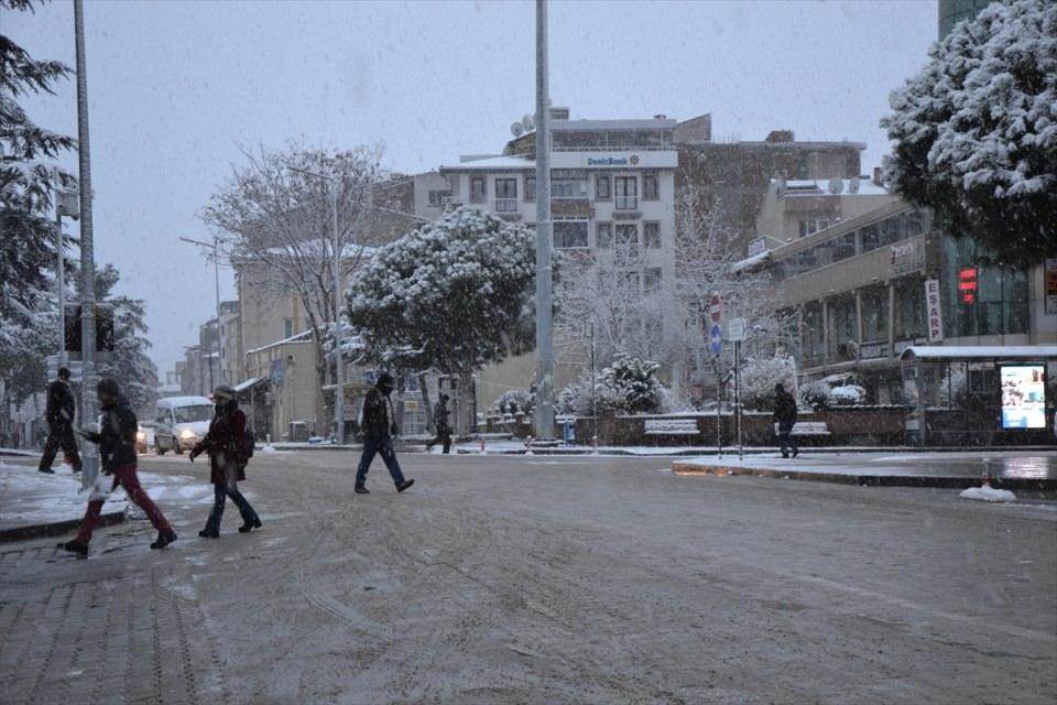 Türkiye'den kar manzaraları 106