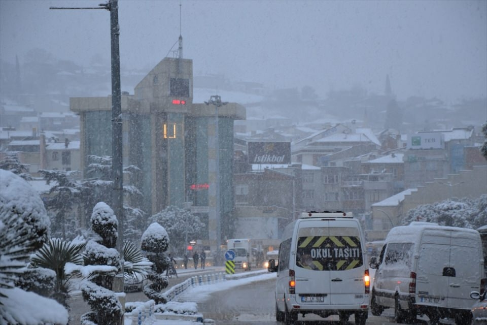 Türkiye'den kar manzaraları 107