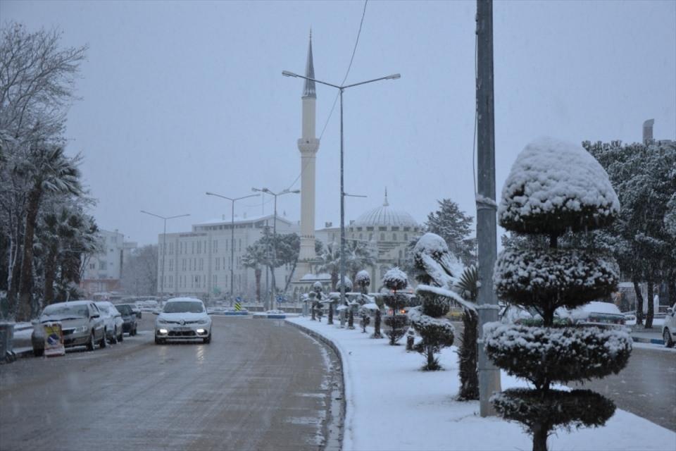 Türkiye'den kar manzaraları 108