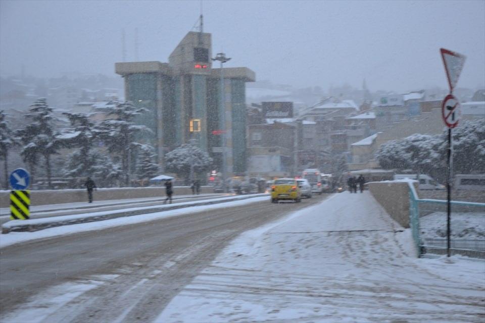 Türkiye'den kar manzaraları 109