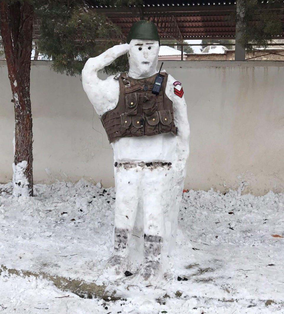 Türkiye'den kar manzaraları 112