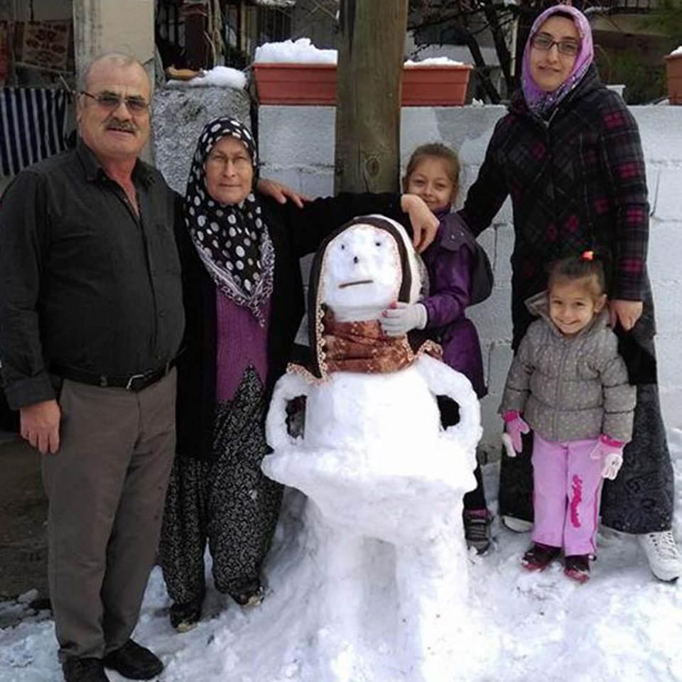 Türkiye'den kar manzaraları 113