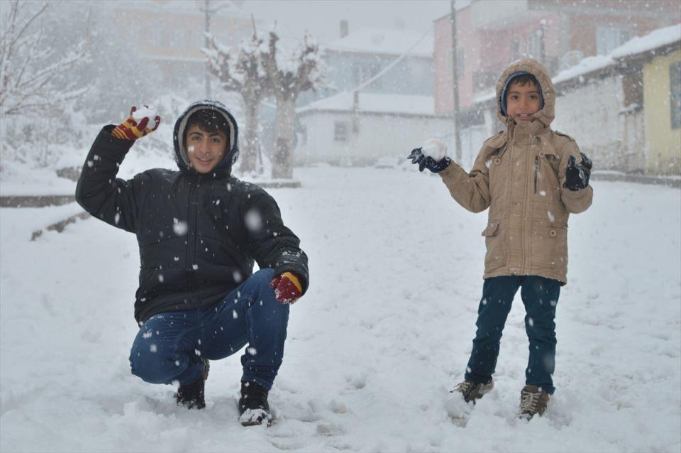 Türkiye'den kar manzaraları 117