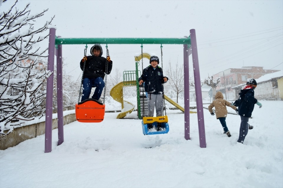 Türkiye'den kar manzaraları 118