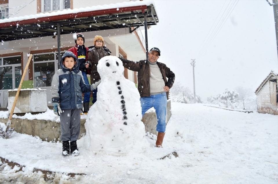 Türkiye'den kar manzaraları 119