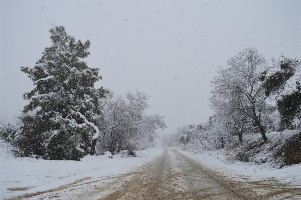 Türkiye'den kar manzaraları 122