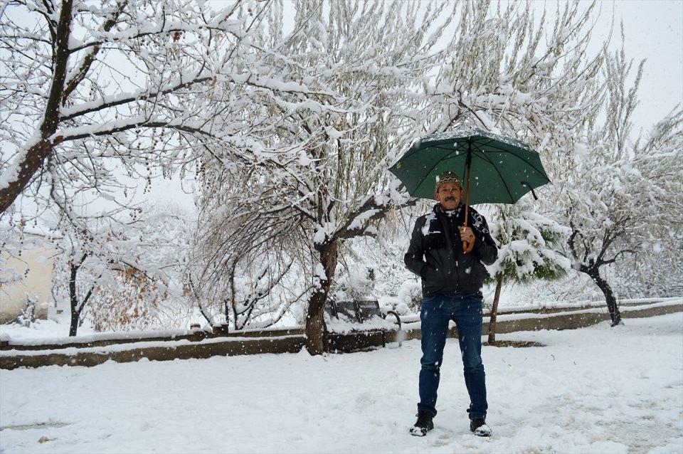 Türkiye'den kar manzaraları 123