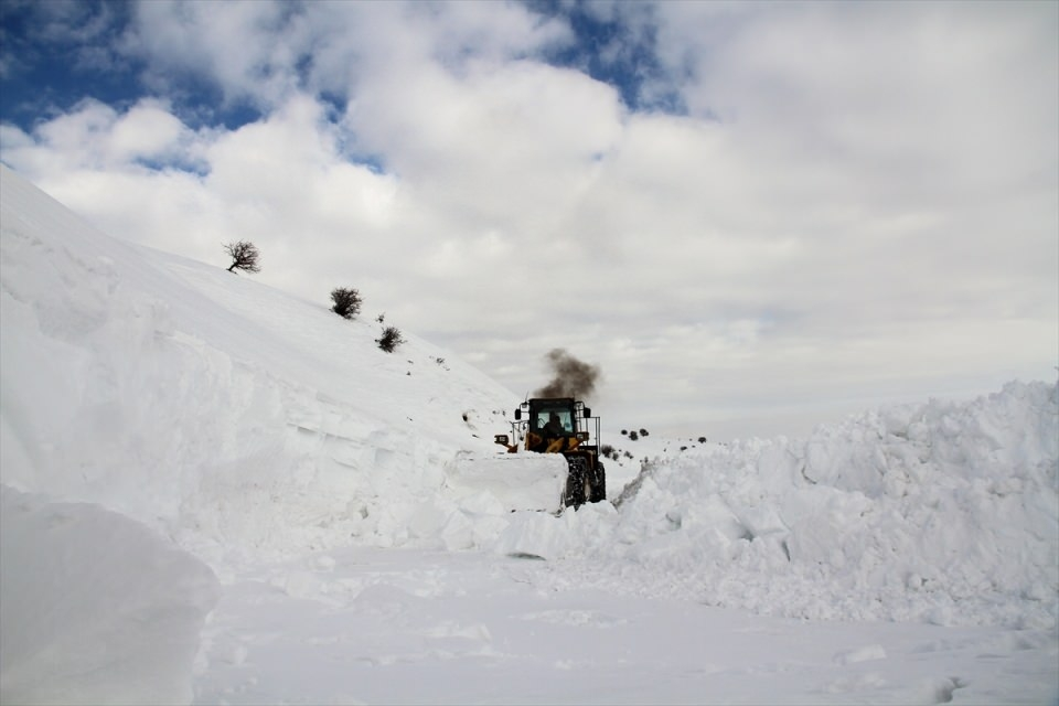 Türkiye'den kar manzaraları 124