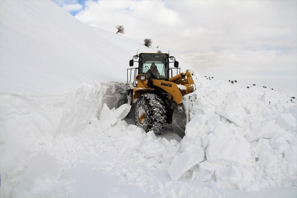 Türkiye'den kar manzaraları 125