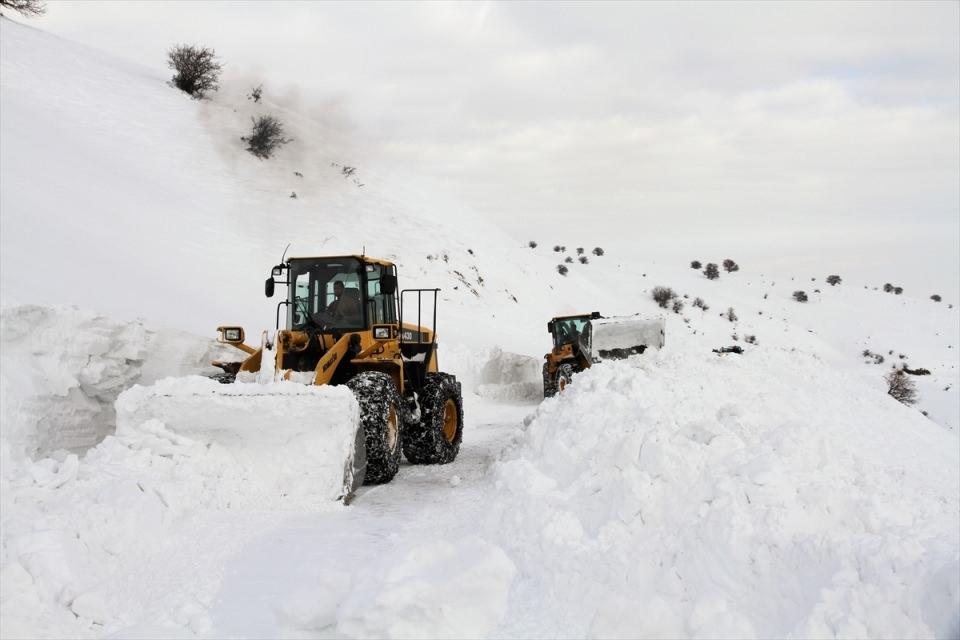 Türkiye'den kar manzaraları 126