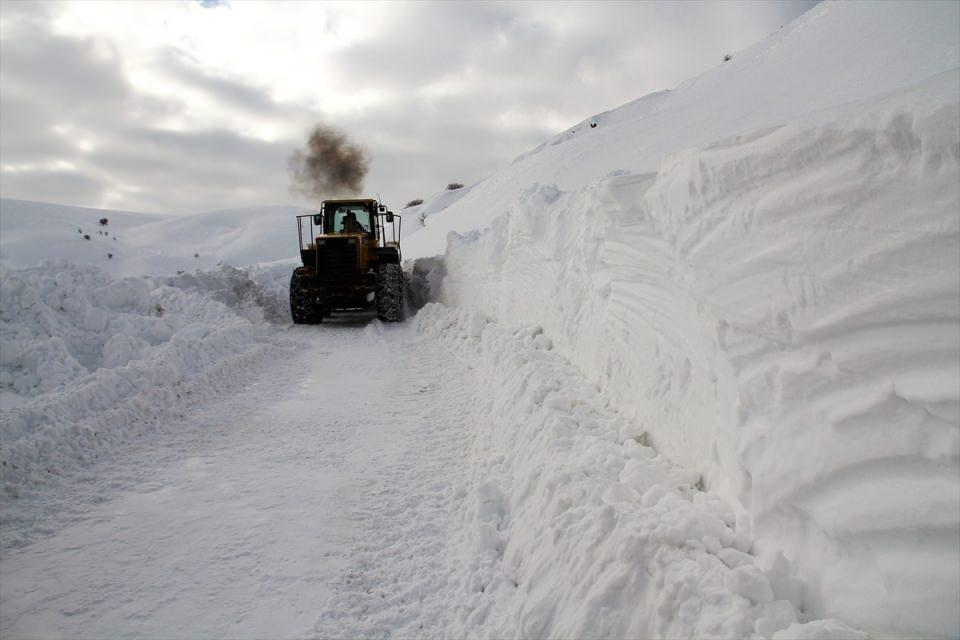 Türkiye'den kar manzaraları 127