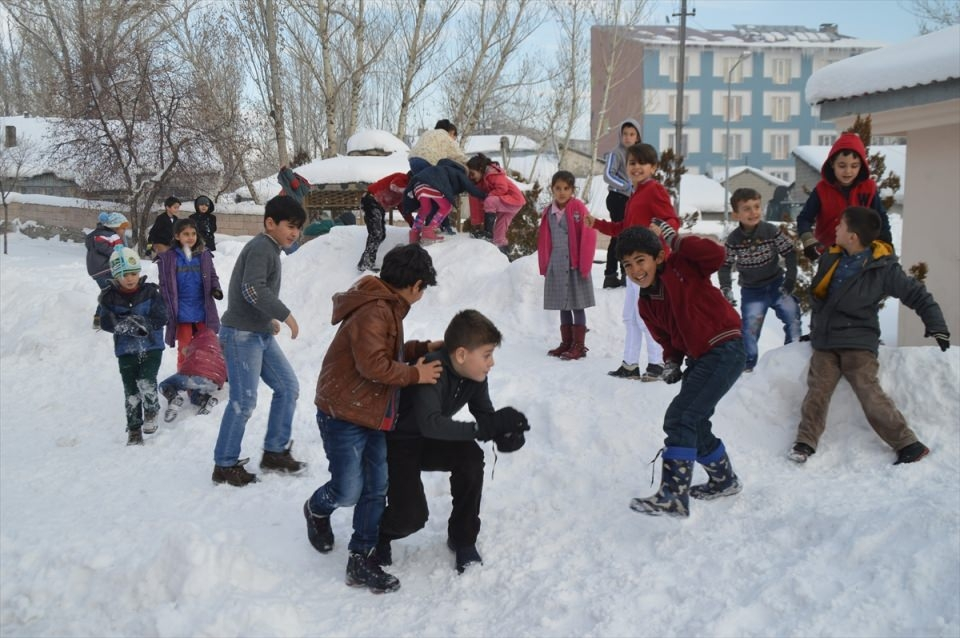 Türkiye'den kar manzaraları 13