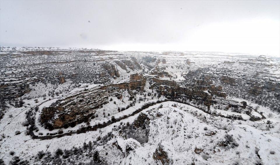 Türkiye'den kar manzaraları 130