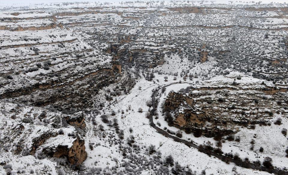 Türkiye'den kar manzaraları 131