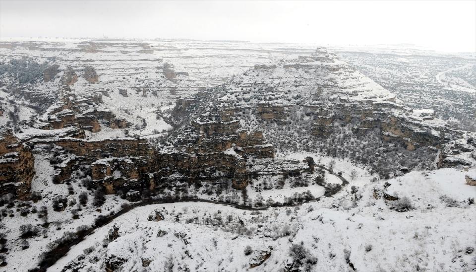 Türkiye'den kar manzaraları 132