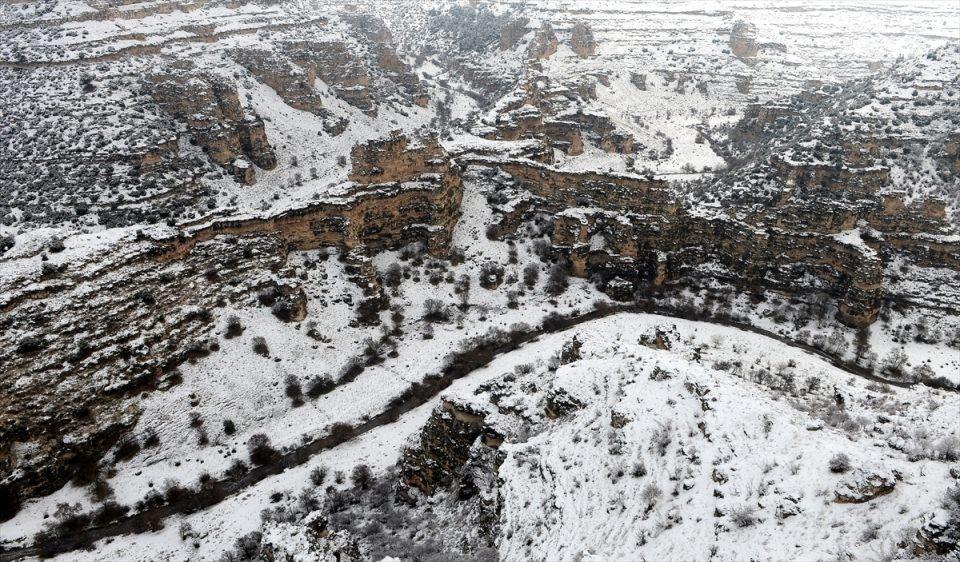 Türkiye'den kar manzaraları 133
