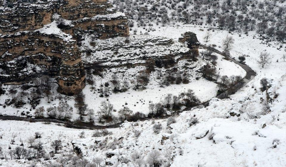 Türkiye'den kar manzaraları 134