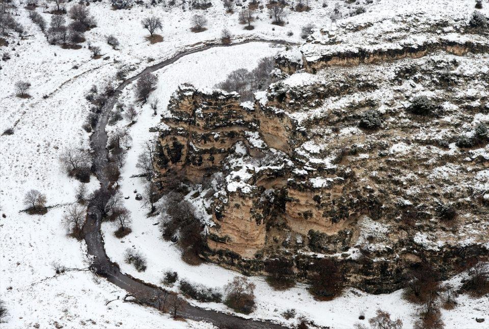 Türkiye'den kar manzaraları 135