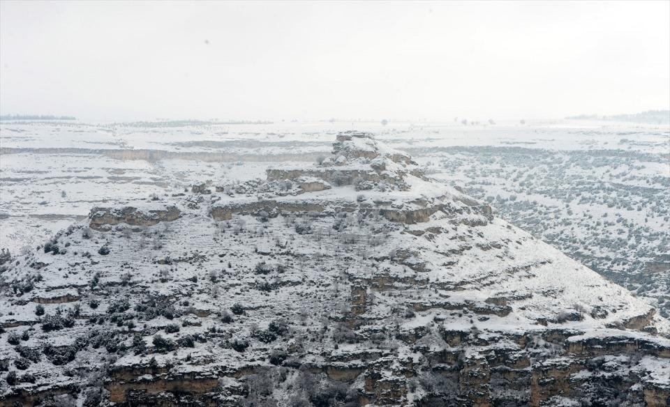 Türkiye'den kar manzaraları 136