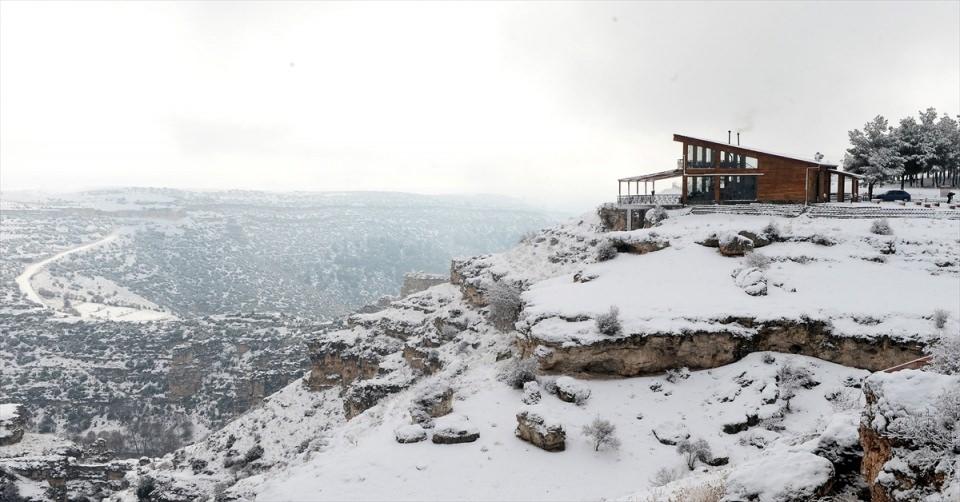 Türkiye'den kar manzaraları 137