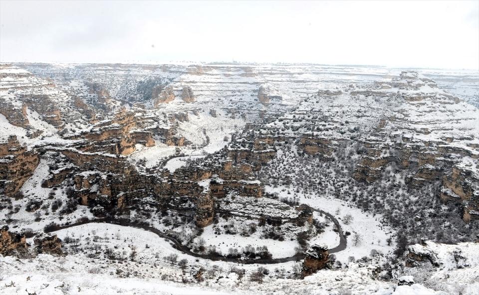 Türkiye'den kar manzaraları 138