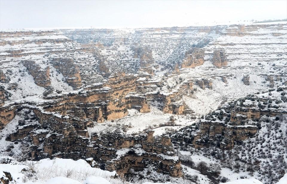 Türkiye'den kar manzaraları 139