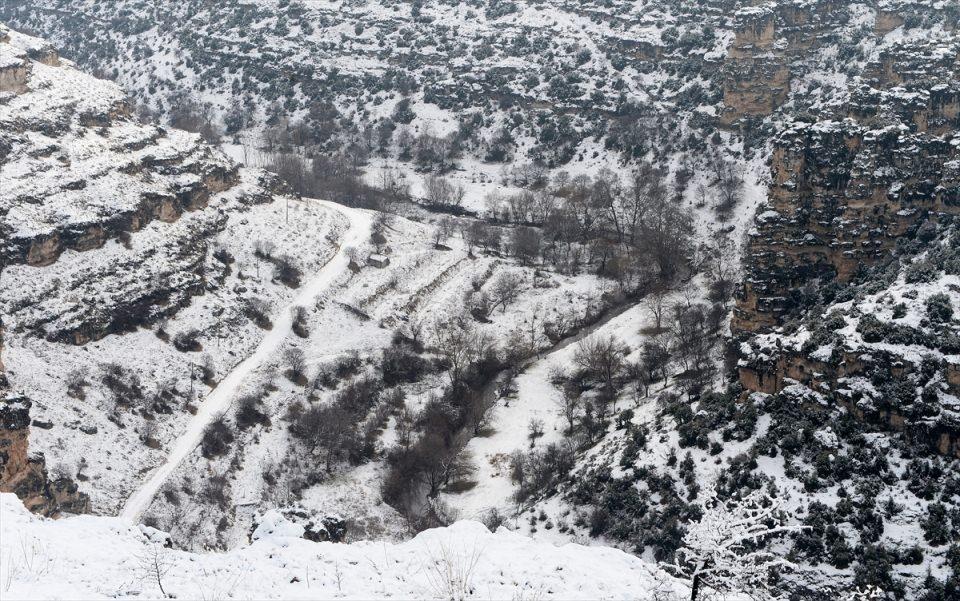 Türkiye'den kar manzaraları 140