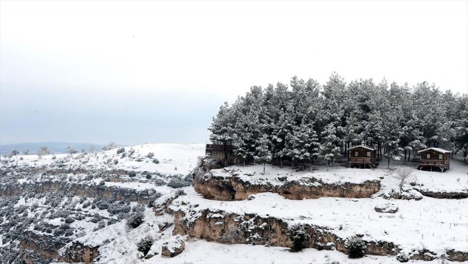 Türkiye'den kar manzaraları 142