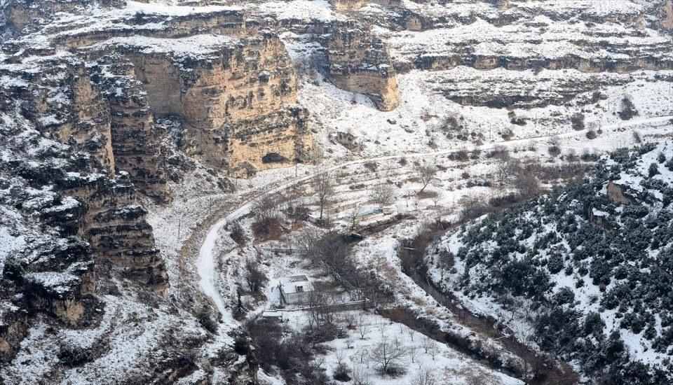 Türkiye'den kar manzaraları 144