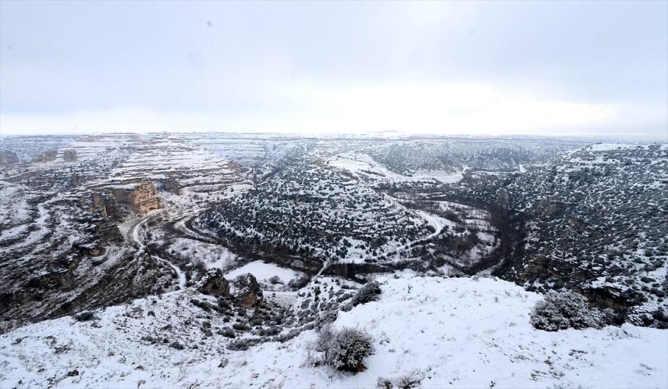 Türkiye'den kar manzaraları 145