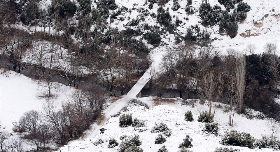 Türkiye'den kar manzaraları 146