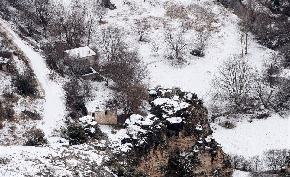 Türkiye'den kar manzaraları 147
