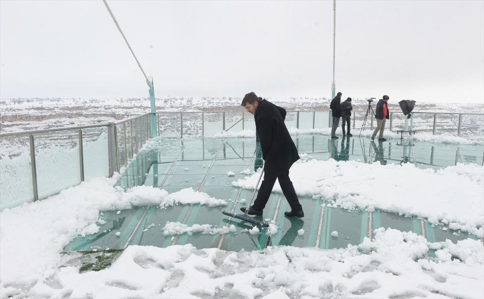 Türkiye'den kar manzaraları 148