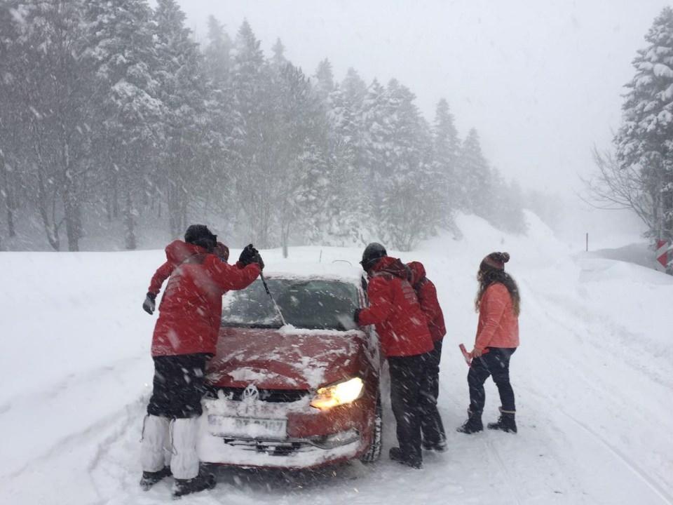 Türkiye'den kar manzaraları 149