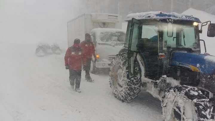 Türkiye'den kar manzaraları 150