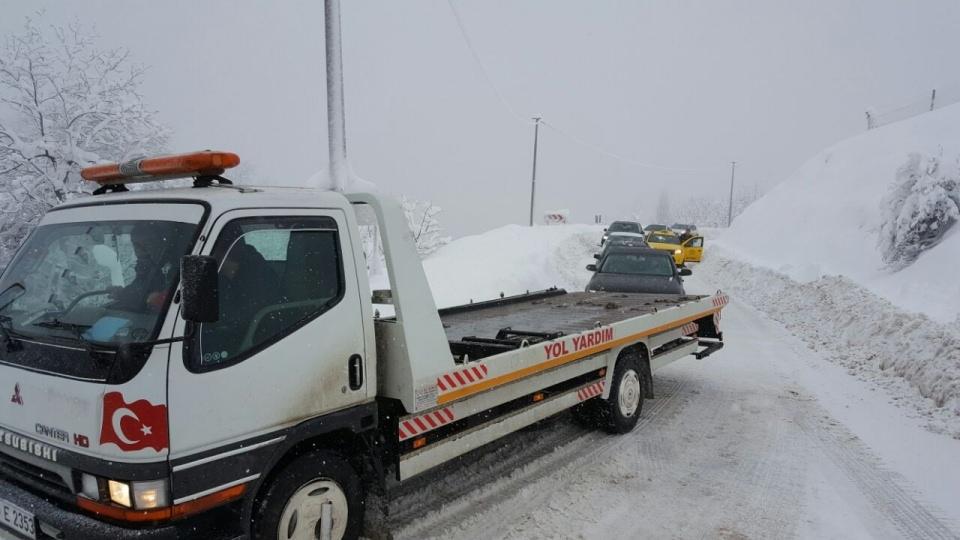 Türkiye'den kar manzaraları 151