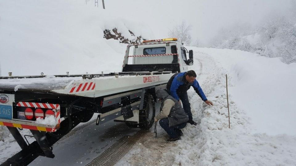 Türkiye'den kar manzaraları 154