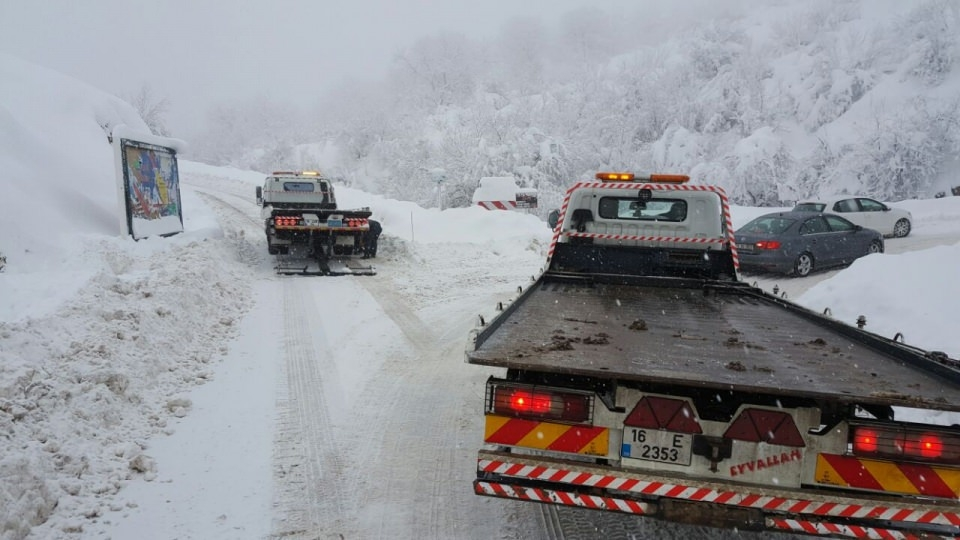 Türkiye'den kar manzaraları 159