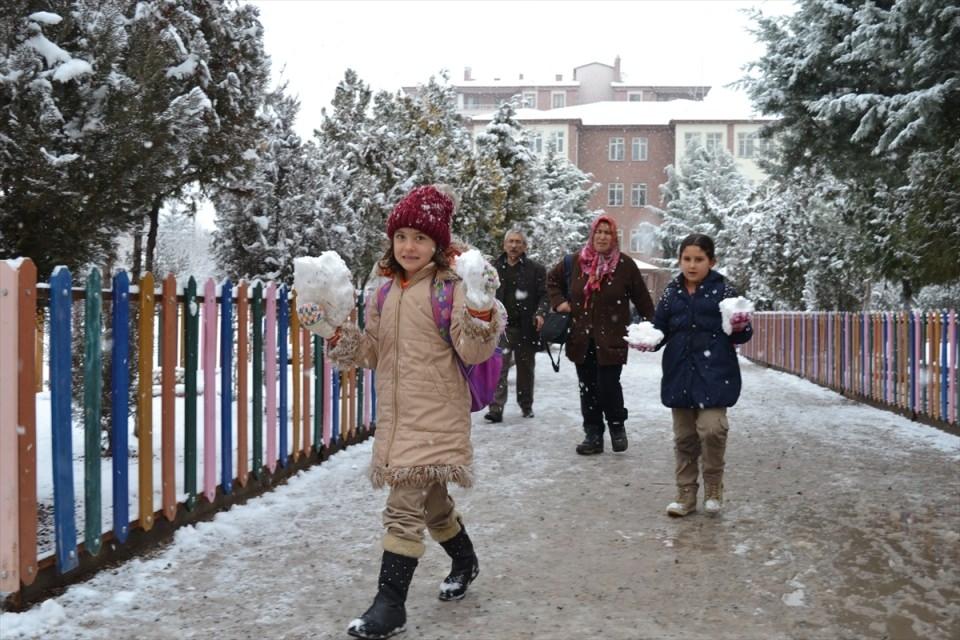 Türkiye'den kar manzaraları 17