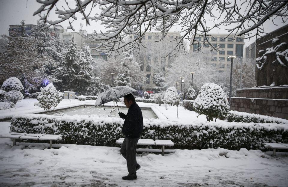 Türkiye'den kar manzaraları 20