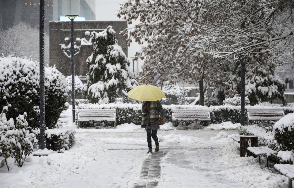 Türkiye'den kar manzaraları 22